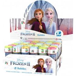 Bublifuk Frozen 2 (Ledové království) 60ml dětský bublifukovač s hrou ve víčku