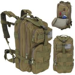Vojenský batoh 28L zelená ISO 8916