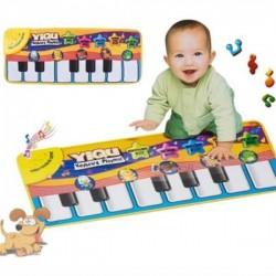 Dětská hrací podložka - piáno KX8036