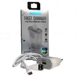 TD-LTE Nabíječka s USB-C kabelem, 3A TD-FC56