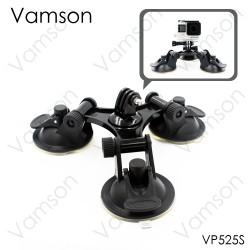 Vamson 3 Head přísavný držák pro GoPro