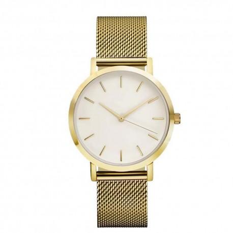 Fabulous Damské ručičkové hodinky kovovy reminek