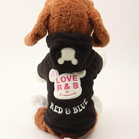 Fleece  obleček pes love