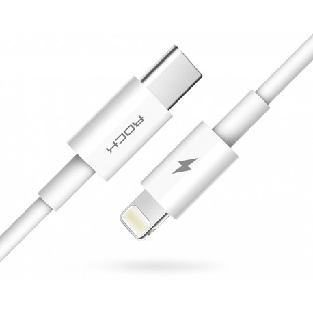 Rock Lightning to USB-C kabel (1m)