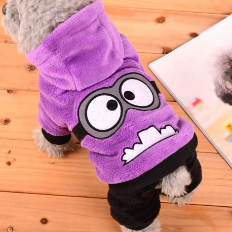 Fleece  obleček pes mimons