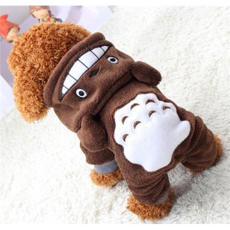 Fleece Obleček pes medvídek