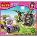 COGO Girls Jeep dobrodružství 4519 221 ks