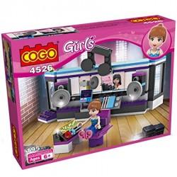 Cogo Girls nahrávací studio 4526 195ks