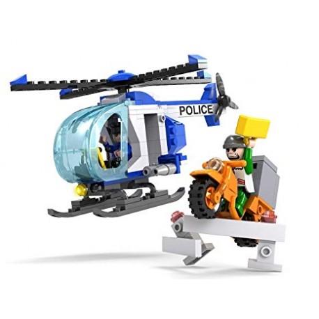 Cogo Police Vrtulník stíhá motorku