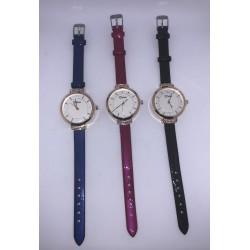 Disu Dámské kožené hodinky