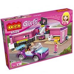 COGO Girls Stavebnice Modelky 4529 - 335 ks