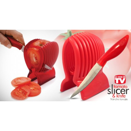 Tomato Slicer Knife, kráječ na rajčata a nůž