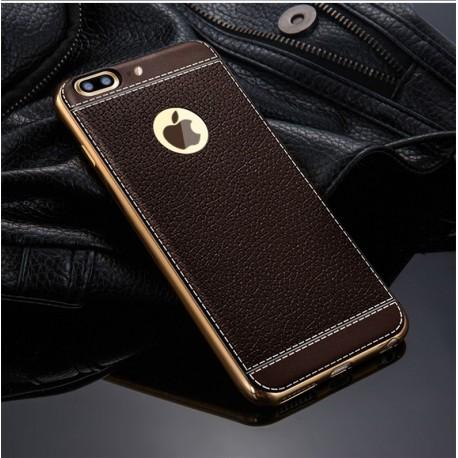 Kožený luxusní kryt iPhone 6, 7