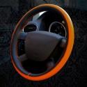 Kožený potah na volant