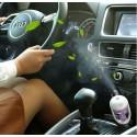 Difuzér na vůni do auta s USB nabíječkou