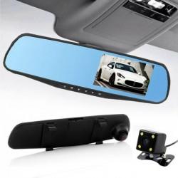 Kamera - černá skříňka zpětné zrcátko HD a zadní kamera