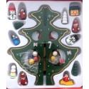 Vánoční dřevěná dekorace