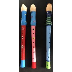 Dřevěná flétna velká