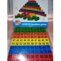 Dřevěné Kostičky s čísly 1 - 100