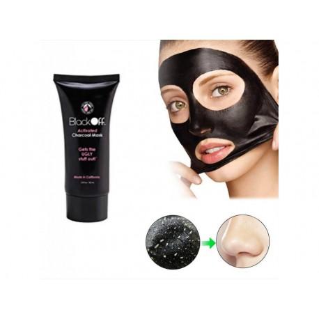 Slupovací pleťová maska – Black Off