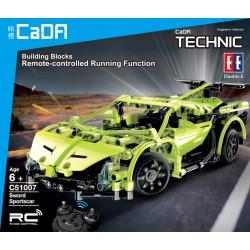 Cadfi Sportscar RC Stavebnice na dálkové ovládání 453 dílků
