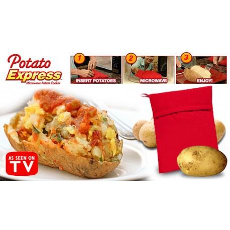 Pytlík na vaření brambor v mikrovlnce - Potato express
