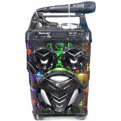 Bluetooth reproduktor s mikrofonem Meirende Karaoke MA-103