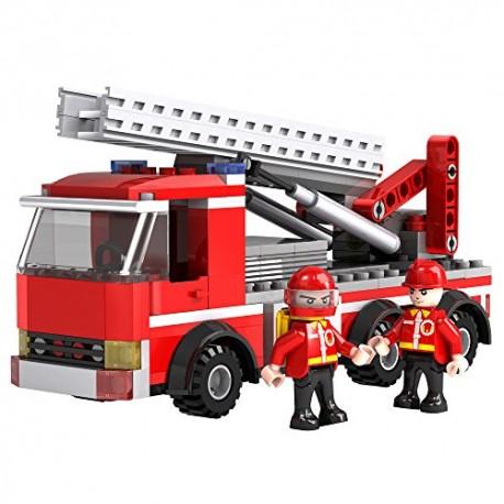 COGO Fire Hasičské auto Žebřík 220 ks 3613