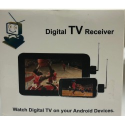 Digital TV Receiver DVB-T2 Android