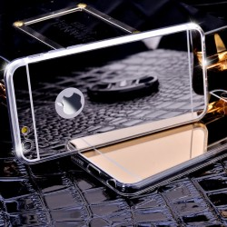 Luxury iPhone 6 6s 7 silikonový kryt se zrcadlem