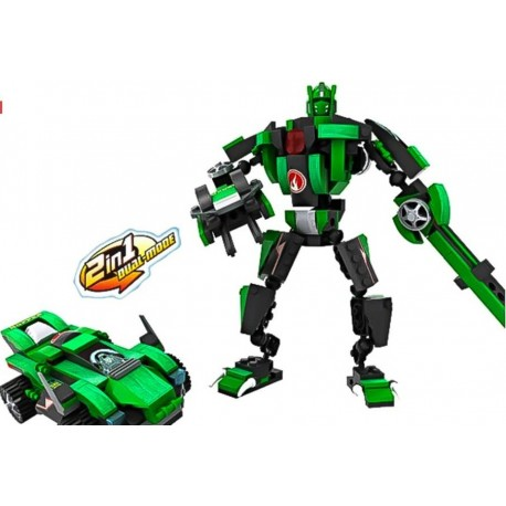 Cogo Robot Transformable 2 v 1 200 ks 4851