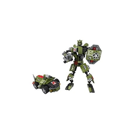 Cogo Robot Transformable 2 v 1 200 ks 4849