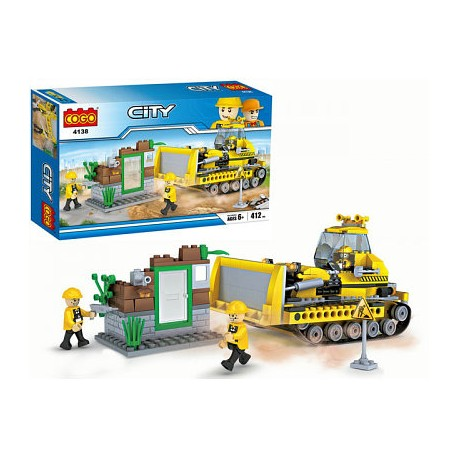 COGO City Buldozer 4138 412ks