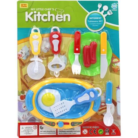 Dětská kuchyňská sada 10ks