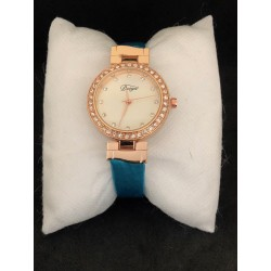 Duoya Dámské kožené hodinky
