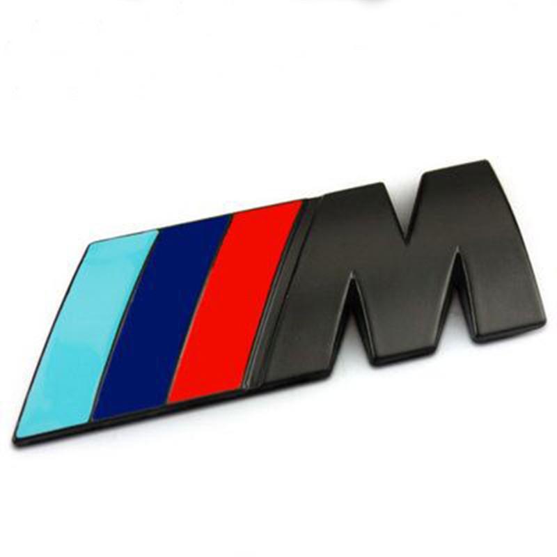 3D Znak BMW M Černá Matná