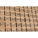 Dřevěné školní pomůcky - Malá násobilka kostičky