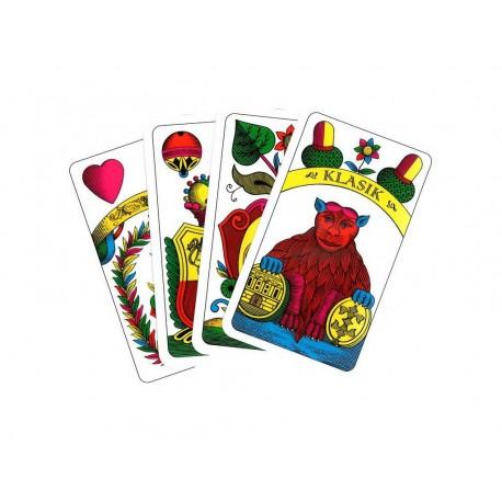Jednohlavé hrací karty
