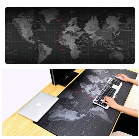 Podložka na myš XXL - Mapa světa