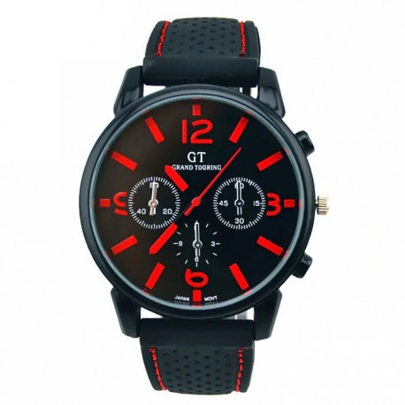GT Pánské hodinky gumovy reminek