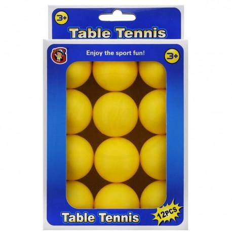 Míčky ke stolnímu tenisu 12ks oranžové