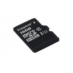 16GB microSDHC Kingston CL10 bez adapteru