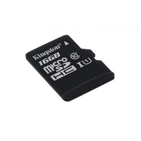 16GB microSDHC Kingston CL10 UHS-I 80R bez adap.