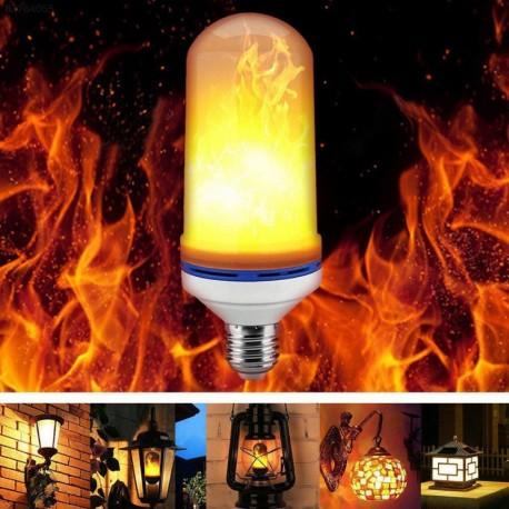 LED žárovka imitující plamen HYO-2