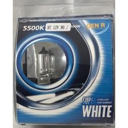 Halogenová žárovka H7 100W 5500k - 2ks, bílé