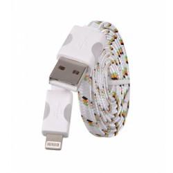 Svítící datový kabel iPhone 5, 5S, 5C, 6, 6S, 6Plus, 7, 7Plus, 8, 8Plus, X