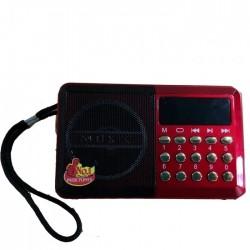 Přenosné digitální FM radio JOC H011U