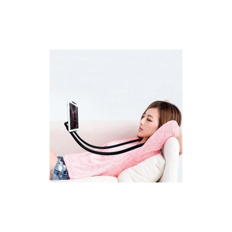 Líný držák na mobil Růžová