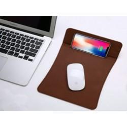 Podložka na myš s bezdrátovým nabíjením Qi Černá P1