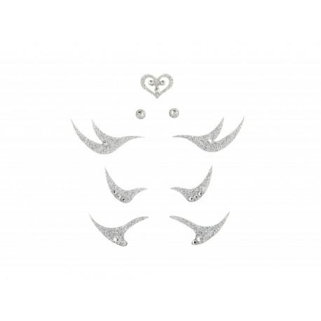 Dámské šperky na tělo stříbrné linky 1
